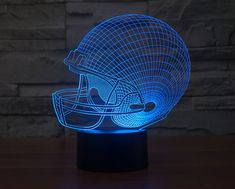 3D LED Night Light Bird In Cage Model 7 Colors 5V USB Led Touch-sensitive Illusi