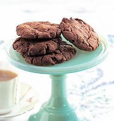 Dark Chocolate Oatmeal Cookies Recipe  | Epicurious.com