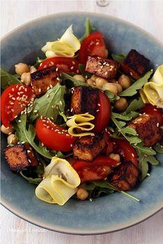 Roasted Beet and Blood Orange Salad with Spicy Greens | Blood Orange ...
