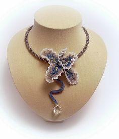 Ирис- цветок модерна | biser.info - всё о бисере и бисерном творчестве