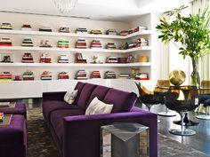 Tamara Mellon's living room via Sukio