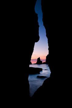 Desde la gruta de Portío, Liengres, Cantabria, Spain, by Rafa Riancho, on flickr.