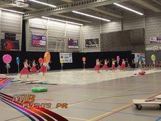 Color Guard Contest Drachten 2016 in het Sportcentrum van Drachten