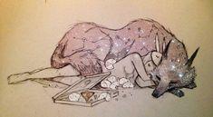 Как-то приглянувшаяся мне художница Chiara Bautista родилась в Мексике, но сейчас живет в США. Она работает иллюстратором в газете и публикует загадочные и уютные картинки на своей страничке в Фейсбук. Моя симпатия к творчеству Чиары выглядит слегка запоздавшей на фоне ее популярности в сети.…