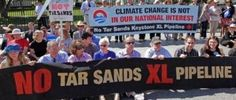 Green groups target the Keystone pipeline, push for carbon tax in Obama second term