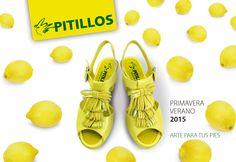 Catalogo Zapatos Pitillos Primavera Verano 2015 Comodidad, Calidad y Estilo Made in Spain.