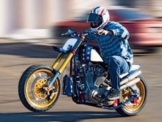 Evel Knievel Sporty By G-Spot Custom Cycles