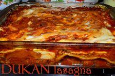 Dukan Lasagna - RETETE DUKAN Lasagna, Dukan Diet, I Foods, Food And Drink, Ethnic Recipes, Lasagne