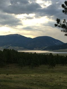 Eagle Nest Lake in northern New Mexico