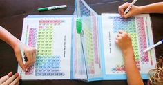 This creative mom makes periodic table battleships toteach her kids chemistry