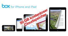50 GB Cloud Speicher kostenlos: Box App 3.0 für iPhone & iPad - http://apfeleimer.de/2014/01/50-gb-cloud-speicher-kostenlos-box-app-3-0-fuer-iphone-ipad - Weil man Cloudspeicher ala Dropbox nie genug haben kann: Box verschenkt 50GB Cloud Speicher zeitgleich mit dem Release der neuen iOS Box App für iPhone und iPad. Wer in den nächsten 30 Tagen die Box App 3.0 für iOS herunterlädt und anmeldet bekommt 50GB Onlinespeicher von Box geschenkt – un...