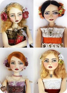 Art Dolls by Du Buh Du Designs - ~One World One Heart 2011~ Blog Event & Giveaway