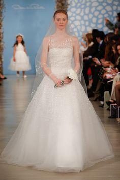 Oscar de la Renta, Bridal Spring 2014