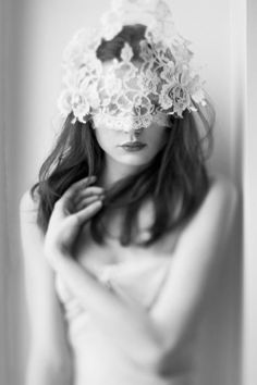 white lace over eyes - Google Search