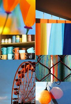 Fun, beach and sedona = heaven Palette, Colour Pallette, Blue And Orange Living Room, Blue Friday, Master Bedroom Makeover, Toy Rooms, Design Seeds, Living Room Colors, World Of Color
