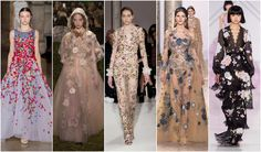 Beautifully Fierce!: Spring 2017 Haute Couture Trends Spring Florals #couture #fashion #trend