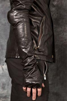 CAROL CHRISTIAN POELL – Arthrosic Elbow & Hands, Leather Jacket  PNP-firenze #carolchristianpoell #ccp #pnpfirenze