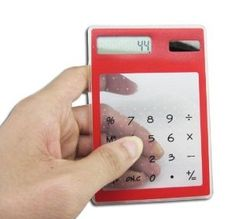 Be gentle to the environment with the Transparent Solar Calculator $3.99 - www.MyWonderList.com