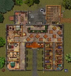 The Wentworth Inn by Bogie at the Cartographer's Guild