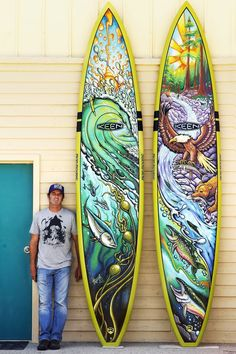 Awesome #SUP #Art by #DrewBrophy!