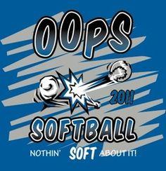 oops softball shirts