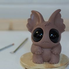 New critter sculpt in progress using Monster Clay. #monsterclay #notchocolate