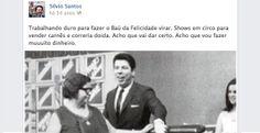 Silvio Santos faz 83 anos; imaginamos sua vida postada na timeline do Facebook