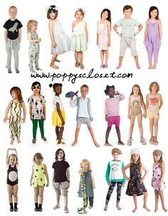 Poppy's Closet SS14 Collections // Mini Rodini, Nellystella, Go Gently Baby, Bobo Choses, Nununu, Moi, Mini + Maximus, Waddler and many more // PoppysCloset.com #kids