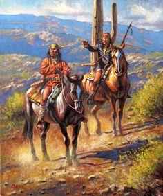 Don Oelze  Apache Scouts