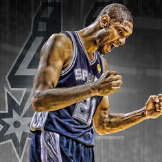 tim duncan Basketball Players, Nba Players, San Antonio Spurs, Rebounding, Sports Art, Superstar, Drills, American History, Athletes