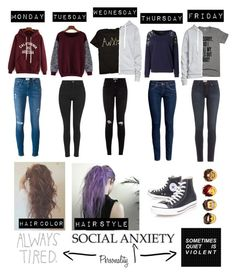 """Personality"" by violet-winter ❤ liked on Polyvore featuring Frame, H&M, Paige Denim, Topshop and Converse"