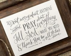 Zephaniah 3:17 Hand-Lettered Scripture Print Bella by Paperglaze