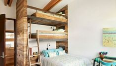 Best Bunk Bed Ideas For Small Bedroom Design - 20 Marvelous Triple Bunk Bed Ideas For Your Kids Bedroom Design – Design & Decor - Girls Bunk Beds, Cool Bunk Beds, Twin Bunk Beds, Kid Beds, Bunk Bed Designs, Small Bedroom Designs, Modern Bunk Beds, Bathroom Color Schemes