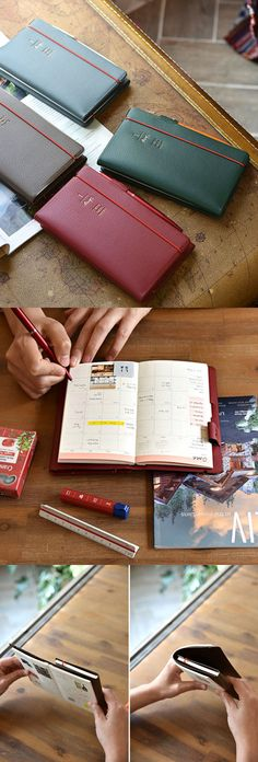 I simply can't wait to start using my 2018 Twin Days Diary! This unique diary is a two-way diary that separates sections for a convenient use! It is also light and slim, and has the perfect size for carrying daily! The clean and colorful presentation really makes me happy everytime I am using it to organize my plans.