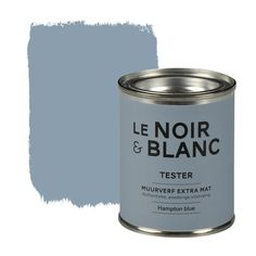 Le Noir & Blanc muurverf extra mat hampton blue 100 ml