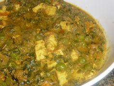 Food From My Kitchen: Methi Matar Paneer Masala / Methi Mutter Paneer Gravy