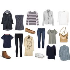 """""""Current Capsule Wardrobe - Spring 2013"""" by victoriastyle on Polyvore"""