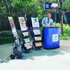 Special Metropolitan Public Witnessing at the Navy Pier in Chicago Illinois USA. There is nothing that produces greater joy than serving Jehovah God. Photo shared by @anafabian88