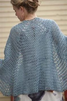 Raindrops Broomstick Lace Shawl - Crochet Me