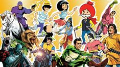 Beyond Borders: How two American universities are competing to build the biggest collection of Indian comic books in the world Diamond Comics, Indian Comics, Chocolate Deserts, Us Universities, Story Of The World, Best Vacations, New Age, Self Help, Watercolors