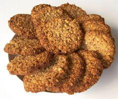 Knasende sprøde mandel-hasselnød småkager - Low-Carb / LCHF Cookies