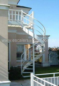 Escaleras para espacios peque os escalera espacios for Escaleras en lugares pequenos