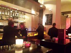 BAR ITALIA, Mariahilferstraße 1070 Wien. Smokey cool, nice waiters and waitresses.