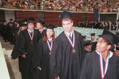 Peyton Manning - The University of Tennessee | 22 Athletes In Their Caps And Gowns
