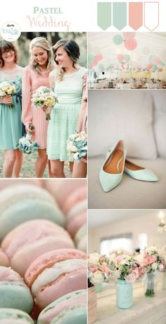 Pastel Wedding Inspiration: Mint and Pink » KnotsVilla