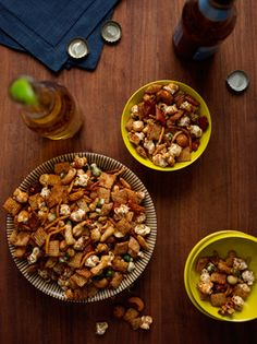 Asian Flavored Snack Mix Photo - Party Hors Doeuvres Recipe | Epicurious.com