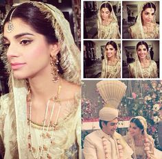 Sanam Saeed on her wedding day
