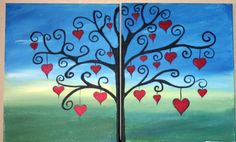 couples paint night | COUPLES NIGHT - Tree Of Love