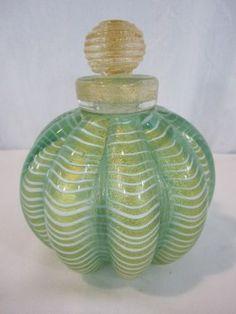 Murano glass bottle, Murano Italy - beautiful place with a lot of beautiful stuff and a lot of OTT stuff :)