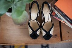 Amazing wedding shoes  Chic   Pretty Palm Springs Wedding | bellethemagazine.com